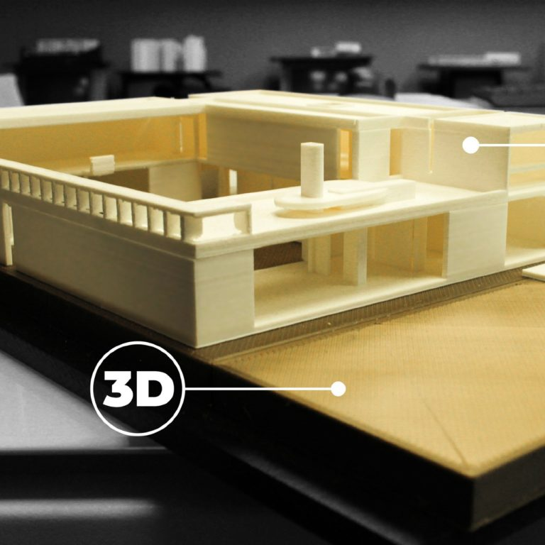 maquette architecture 3D