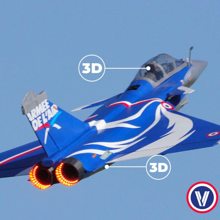 Maquette avion 3D