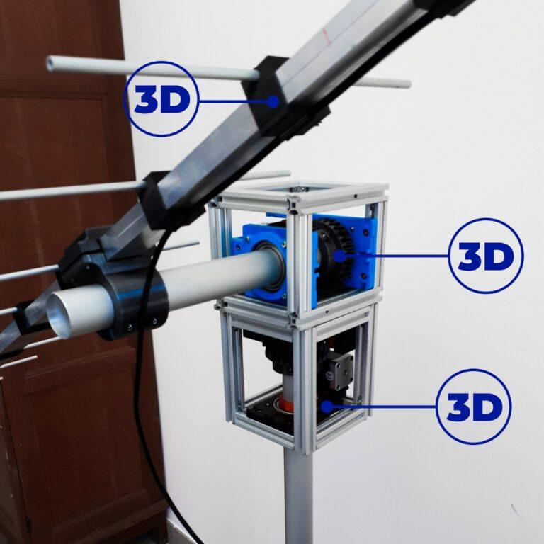 antenne radio 3D