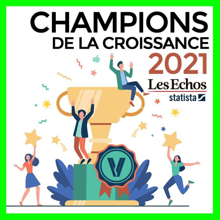 LES CHAMPIONS DE LA CROISSANCE 2021